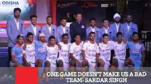 One Game Doesn't Make Us A Bad Team  Sardar Singh [Video]