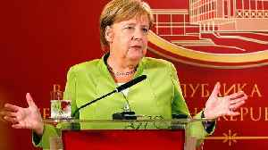 Merkel backs Macedonia name change deal with Greece [Video]