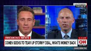 Avenatti responds to report that Cohen's offering to tear up Stormy deal [Video]