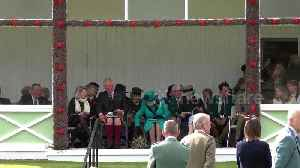 Queen Elizabeth attends annual Braemar Gathering in Scotland [Video]