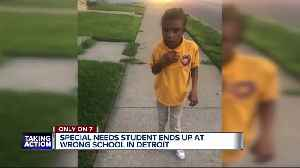 Detroit special needs student mistakenly sent to wrong school [Video]
