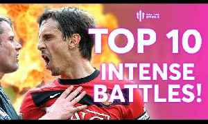 Top 10 INTENSE Manchester United BATTLES! [Video]