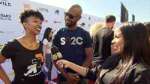Sonequa Martin-Green Walks The 'Stand Up To Cancer' Carpet [Video]
