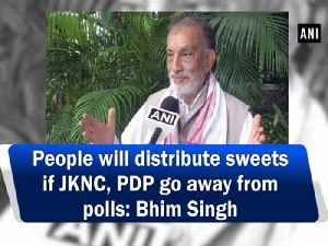 People will distribute sweets if JKNC, PDP go away from polls: Bhim Singh [Video]