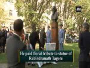 President Kovind pays floral tribute to Rabindranath Tagore in Prague [Video]