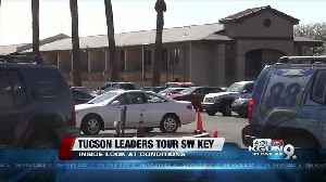 Tucson, Pima County leaders tour Southwest Key facility [Video]
