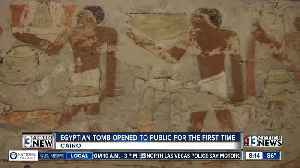 Ancient Egyptian tomb now open to public for the first time [Video]