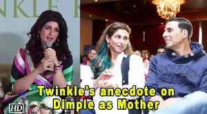 Twinkle's anecdote on Dimple as Mother | Mrs Funnybones [Video]