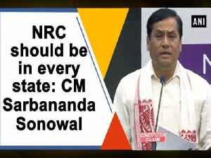 NRC should be in every state: CM Sarbananda Sonowal [Video]