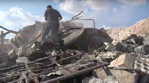 Airstrikes Target Medical Center Near Hass, Idlib Activists Say [Video]