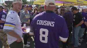 Vikings Excited After Kirk Cousins' First Game [Video]
