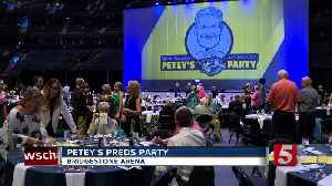 Petey's Preds Party Benefits Good Cause [Video]
