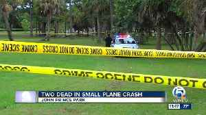 2 people killed after small plane crashes at John Prince Park near Lake Worth [Video]