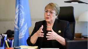 U.N. Rights Chief Bachelet Takes On China, Other Powers In First Speech [Video]
