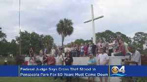 Judge Rules Cross Must Be Removed From Pensacola Park [Video]