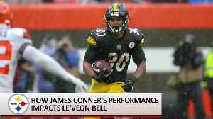 Steelers: How James Conner's Performance Impacts Le'Veon Bell [Video]