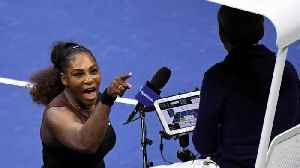 Serena Williams Gets Three Code Violations In US Open Final [Video]