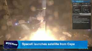 SpaceX launches satellite from Cape Canaveral [Video]