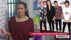 One Direction Fans FREAK OUT Over Liam Payne's CRYPTIC Post [Video]
