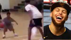 Steph Curry Gets OWNED By TINY TODDLER! [Video]