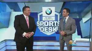 Sports Desk: Miami Heat Insider Tim Reynolds Discusses Haslem Signing & Wade's Future [Video]