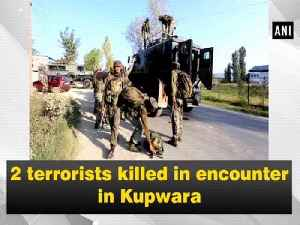 2 terrorists killed in encounter in Kupwara [Video]