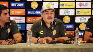 Maradona tells new club's fans he's not on holiday [Video]