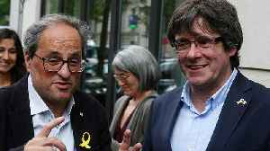 Catalan leader Quim Torra calls for separatist rally in Barcelona on La Diada [Video]