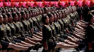 North Korea holds back ballistic missiles in military parade celebration [Video]
