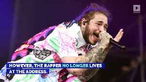 Post Malone Targeted by Robbers Who Broke Into His Old House [Video]