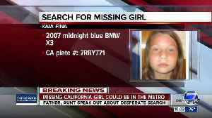 Missing California girl may be in Denver metro area [Video]