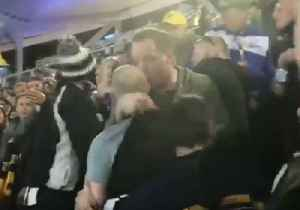 Collingwood Supporters Brawl in Optus Stadium After Loss to West Coast Eagles [Video]