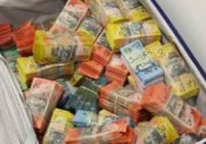 Millions of Dollars' Worth of Illicit Drugs and Cash Seized in Brisbane [Video]