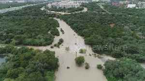 Crazy drone footage shows Texas flooding [Video]