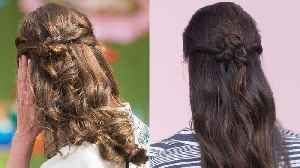 Beauty School: Master Kate Middleton's Signature Half-Up 'Do [Video]