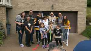Sidney Crosby delivers season tickets to lucky Penguins fans in person [Video]