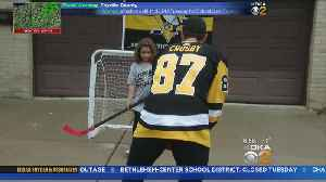 'Highlight Of The Year': Sidney Crosby Delivers Season Tickets, Plays Driveway Hockey With Kids [Video]