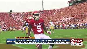 Sooners open defense of Big 12 title Saturday against Iowa State [Video]