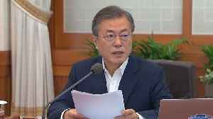 News video: South Korea's Moon Calls for 'Bold Decisions' Ahead of a Summit With Kim Jong Un