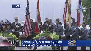 Annual 9/11 Ceremony Held At Jersey City Waterfront [Video]