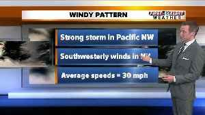 Windy weather on the way [Video]