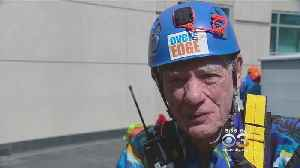 90-Year-Old World War II Vet Rappels Down Skyscraper To Raise Money For Cancer Research [Video]