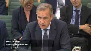 News video: UK finance minister says BoE governor to stay on