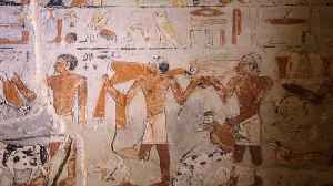 4,000-Year-Old Tomb Opened In Egypt [Video]