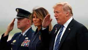 News video: Trump Pays Tribute to Victims of 9/11 Attacks