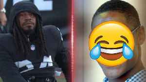 Marshawn Lynch Roasted After Hilarious HS Pic Surfaces On Internet! [Video]