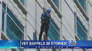 90-Year-Old World War II Vet Rappells Down 38-Story Skyscraper [Video]