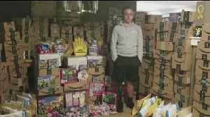 17-Year-Old Cancer Survivor Celebrates His Birthday by Giving Gifts to Sick Kids [Video]