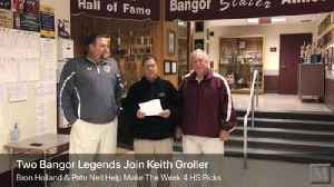 Bangor Slaters legends Bron Holland and Pete Nell join Keith Groller for the Week 4 high school football picks [Video]