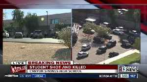Shooting at Canyon Springs High School in North Las Vegas [Video]